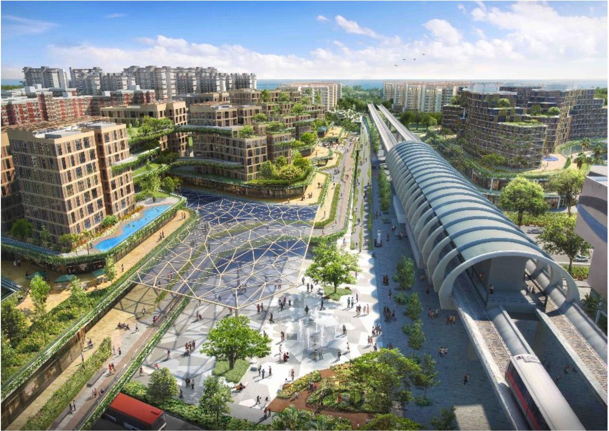 Pasir Ris Central Residential and Commercial