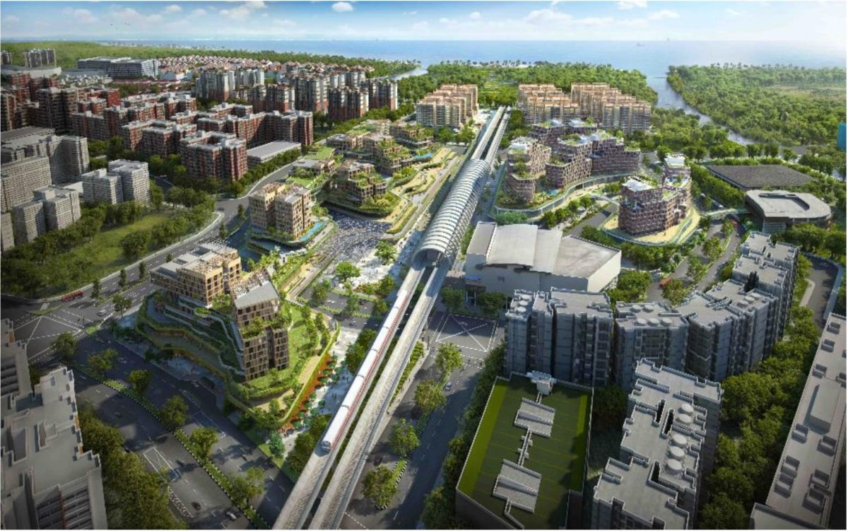 Pasir Ris Central Artist Impression