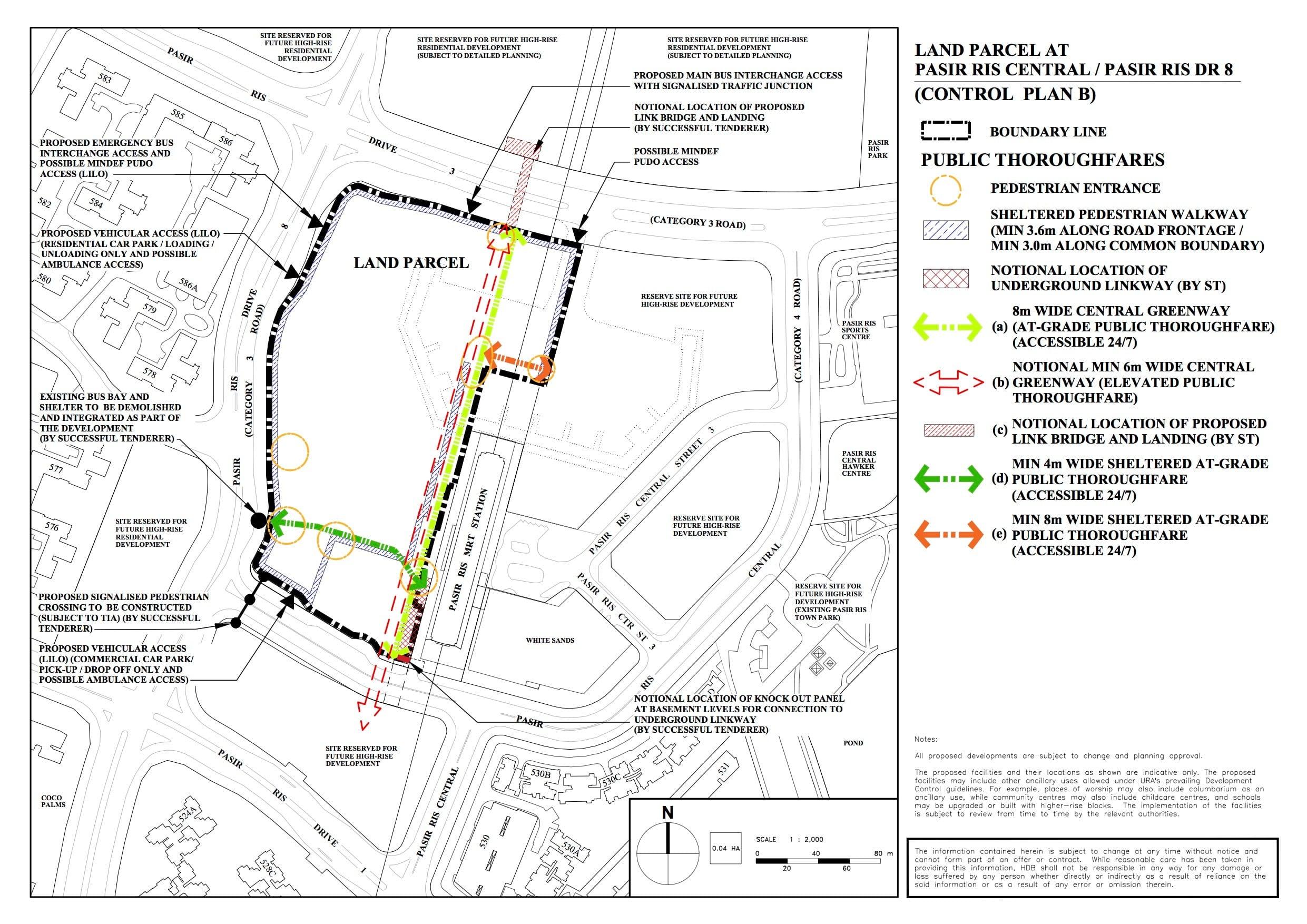 White Site Control Plan