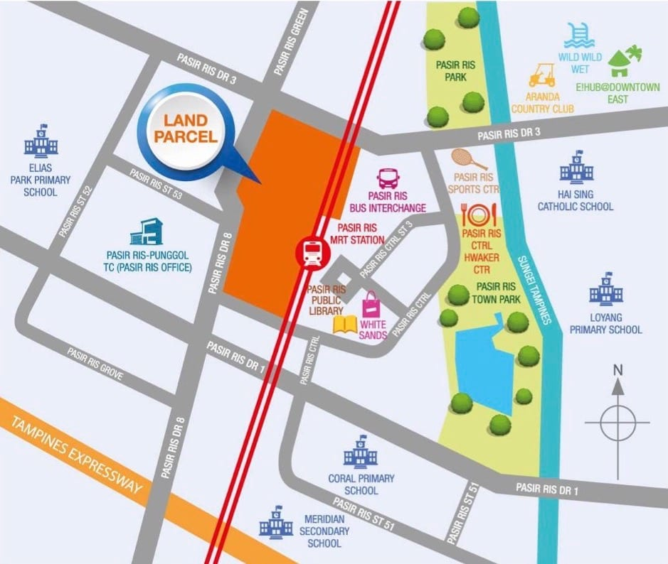 Pasir Ris Central Mixed Use Location