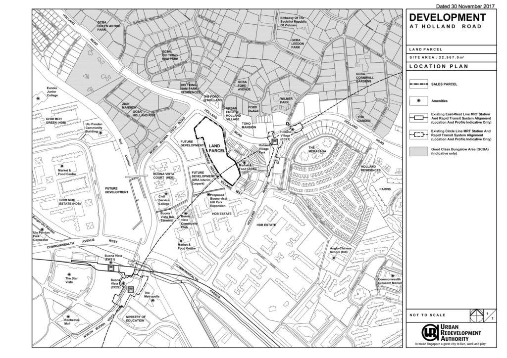 URA Location Plan
