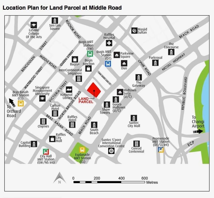 URA GLS Middle Road