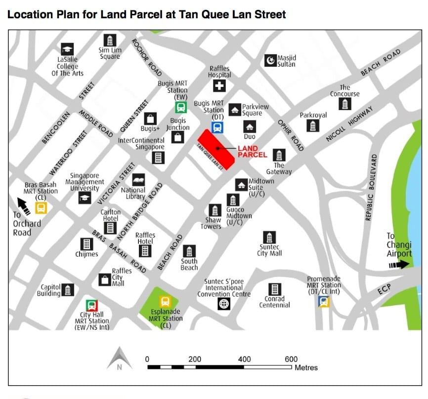 URA GLS Tan Quee Lan Street