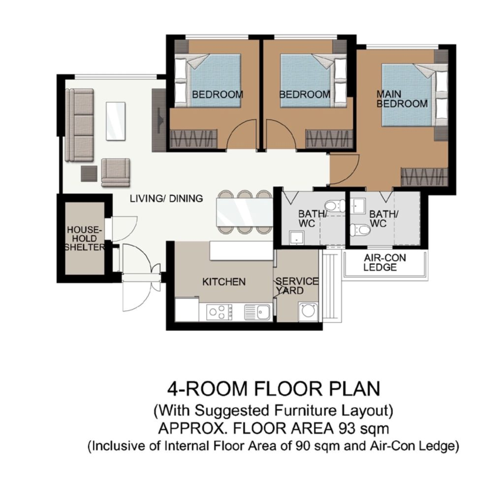 Fernvale Acres Floor Plan