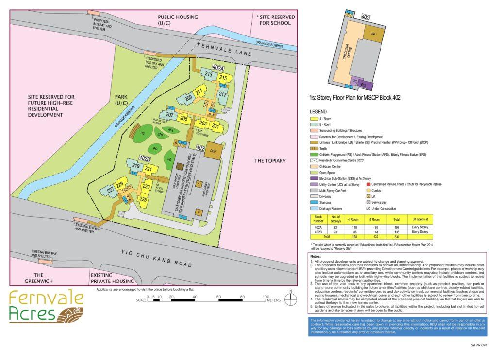 Fernvale Acres Site Plan