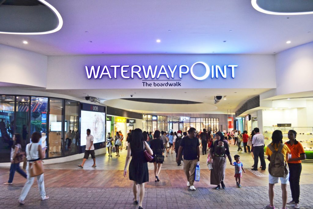 Front view of Waterway Point, The Boardwalk