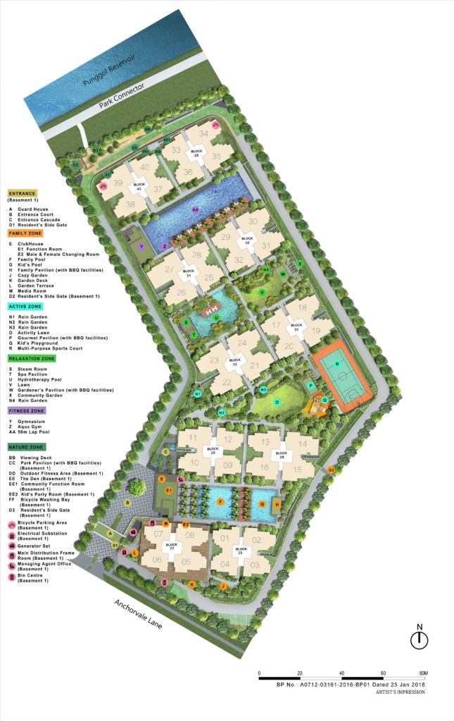 Rivercove Residences Site Plan