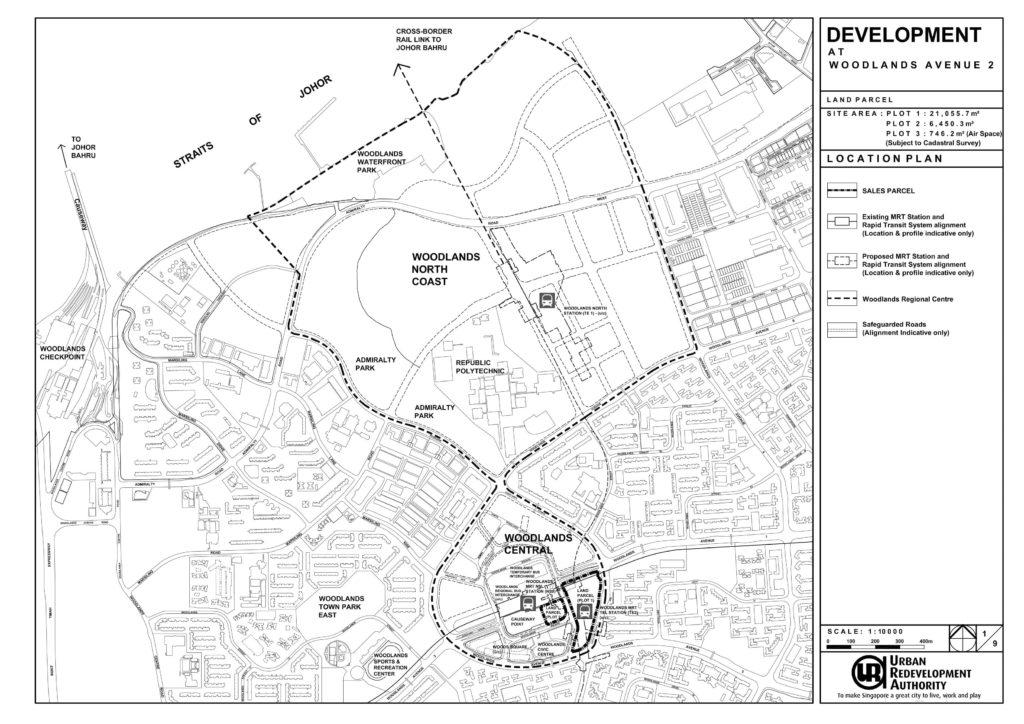 Woodlands White Site Location Plan