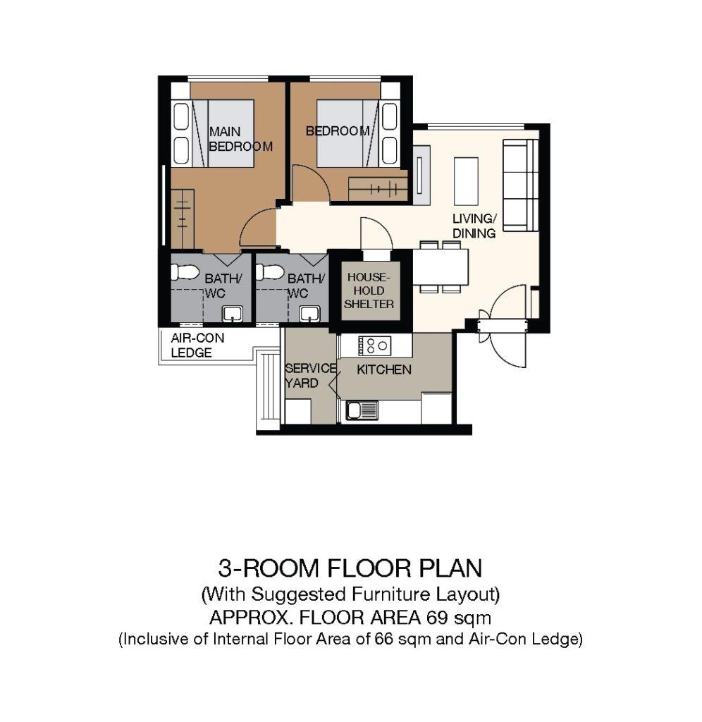 Towner Crest Floor Plan