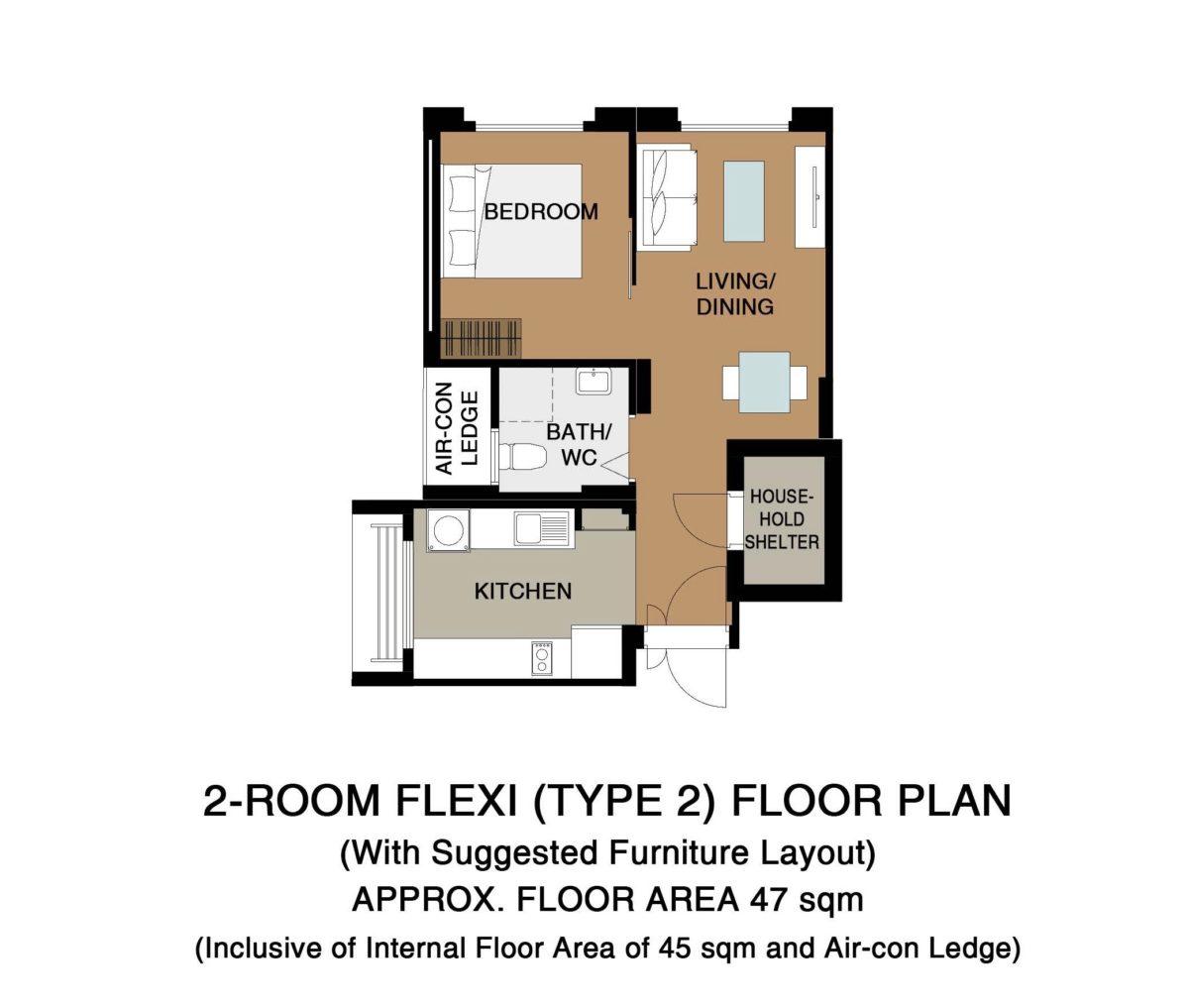 Sengkang BTO Floor Plan