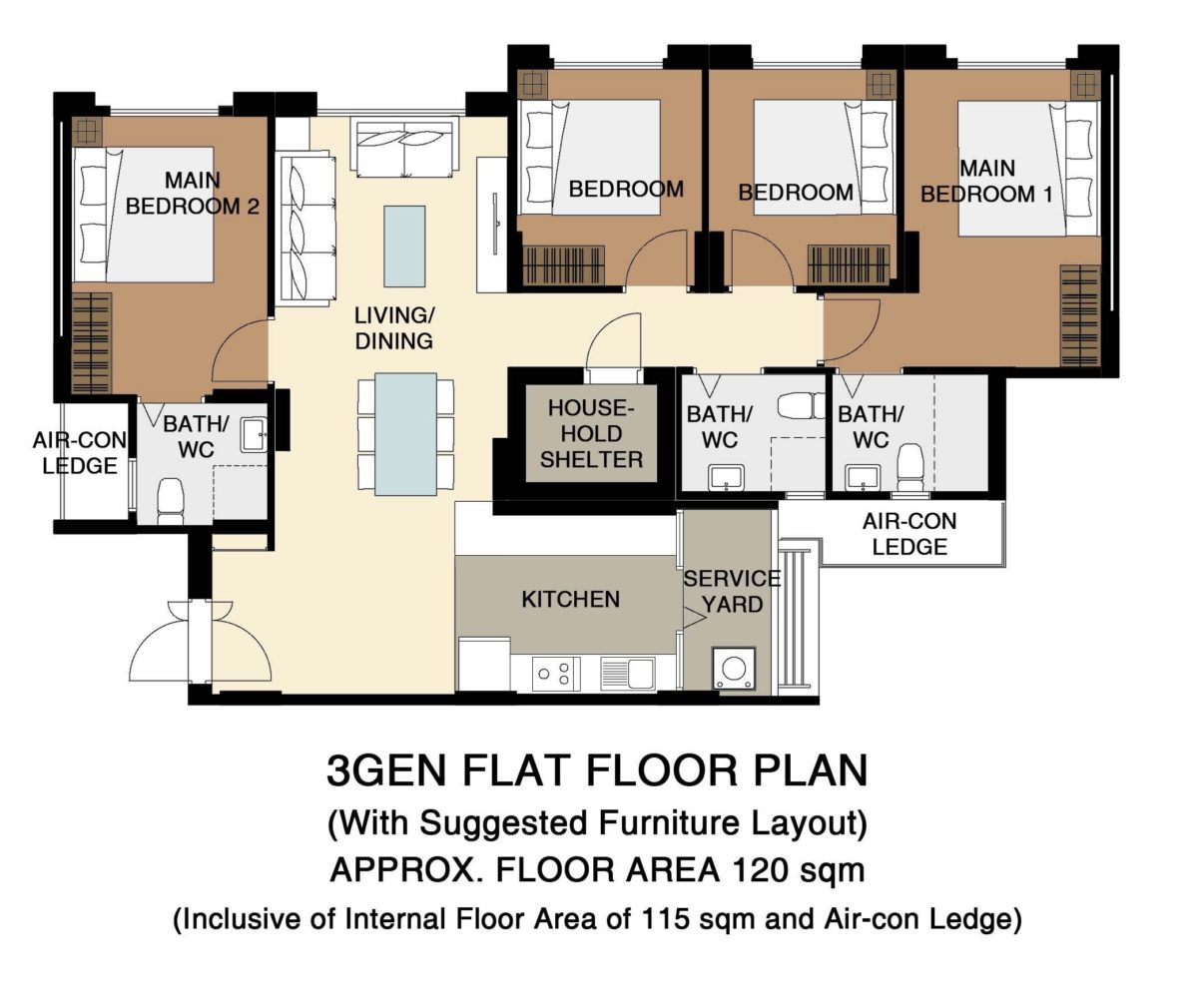 Fernvale Vines Floor Plan