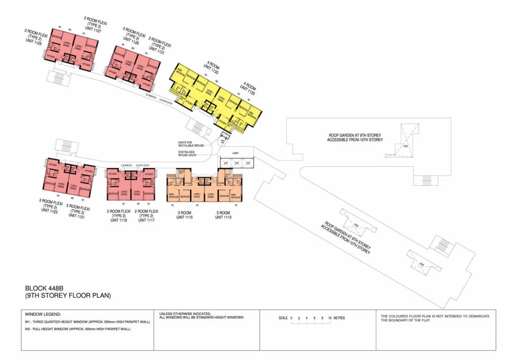 Punggol Point Cove Floor Plan for Storey 9