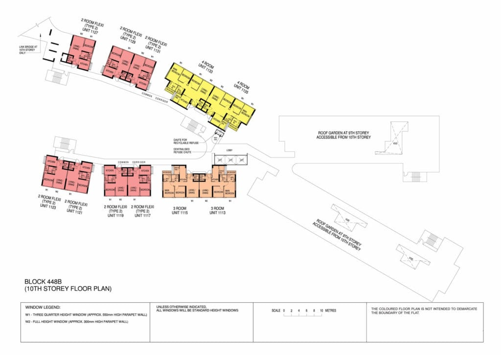 Punggol Point Cove Floor Plan for Storey 10