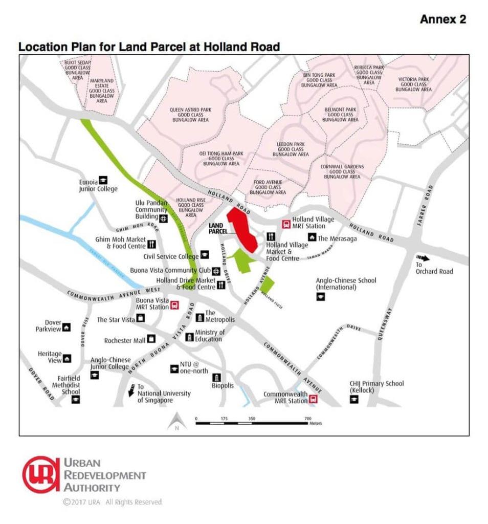 Holland Village GLS Location Plan
