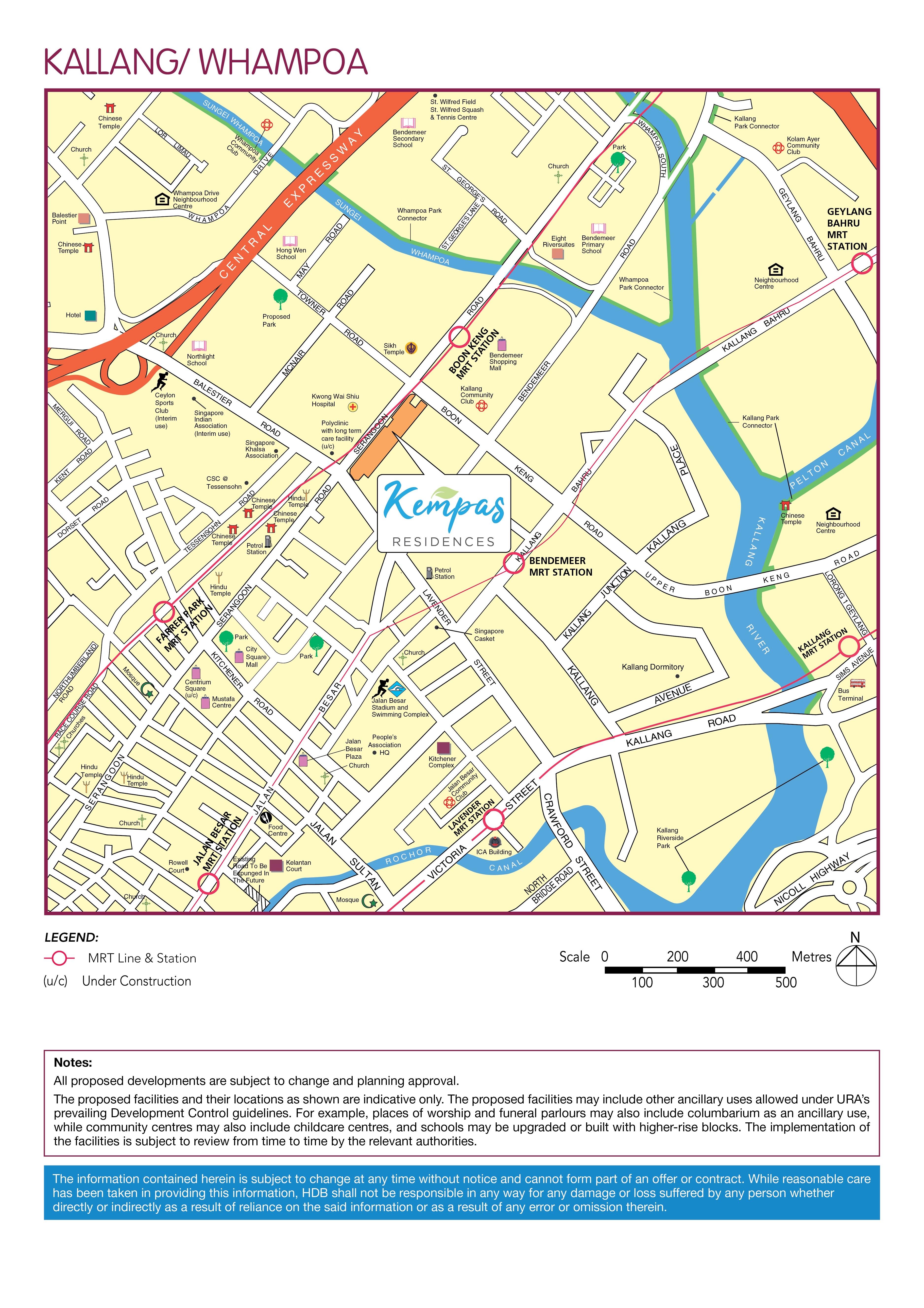 Kempas Residences Location Map