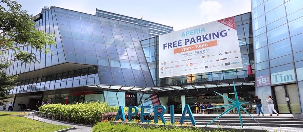 Aperia Mall Near Kempas Residences BTO