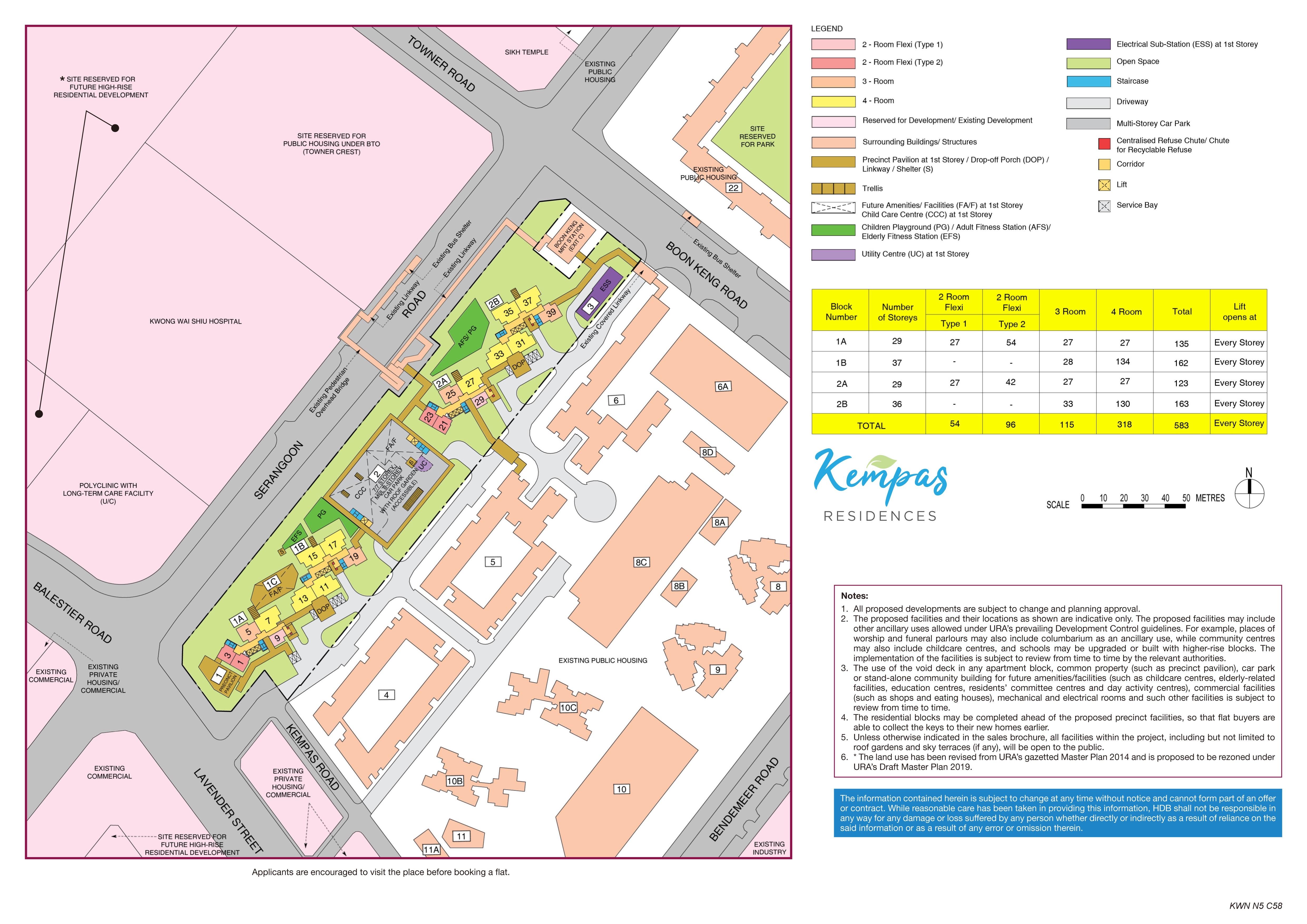 Kempas Residences Site Plan