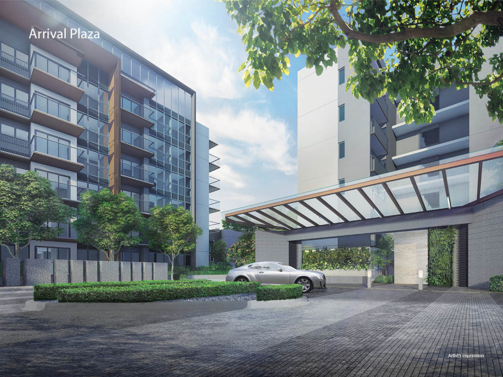 Fourth Avenue Residences Arrival Plaza
