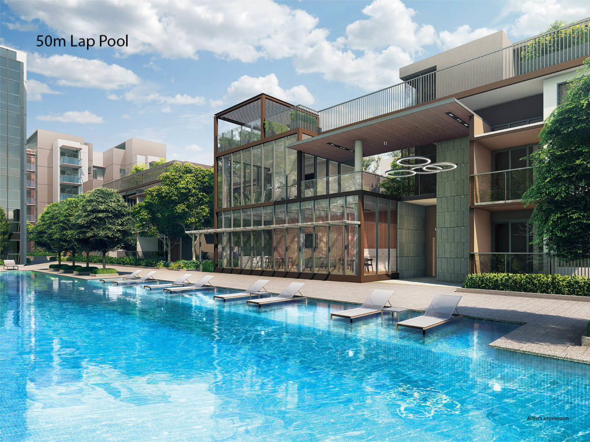 Fourth Avenue Residences 50m Lap Pool
