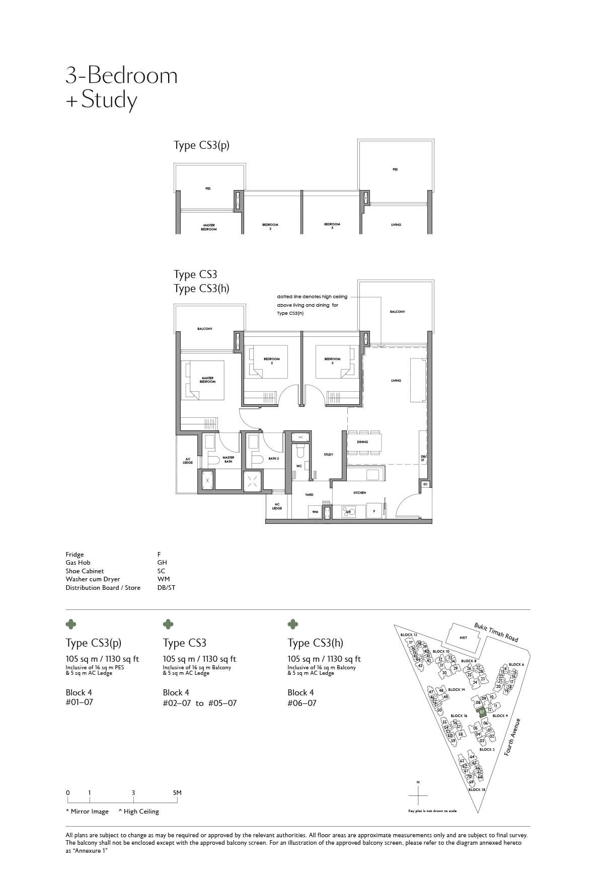 fourth-avenue-residences_floor-plan_3BR-Study_CS3_CS3-p_CS3-h