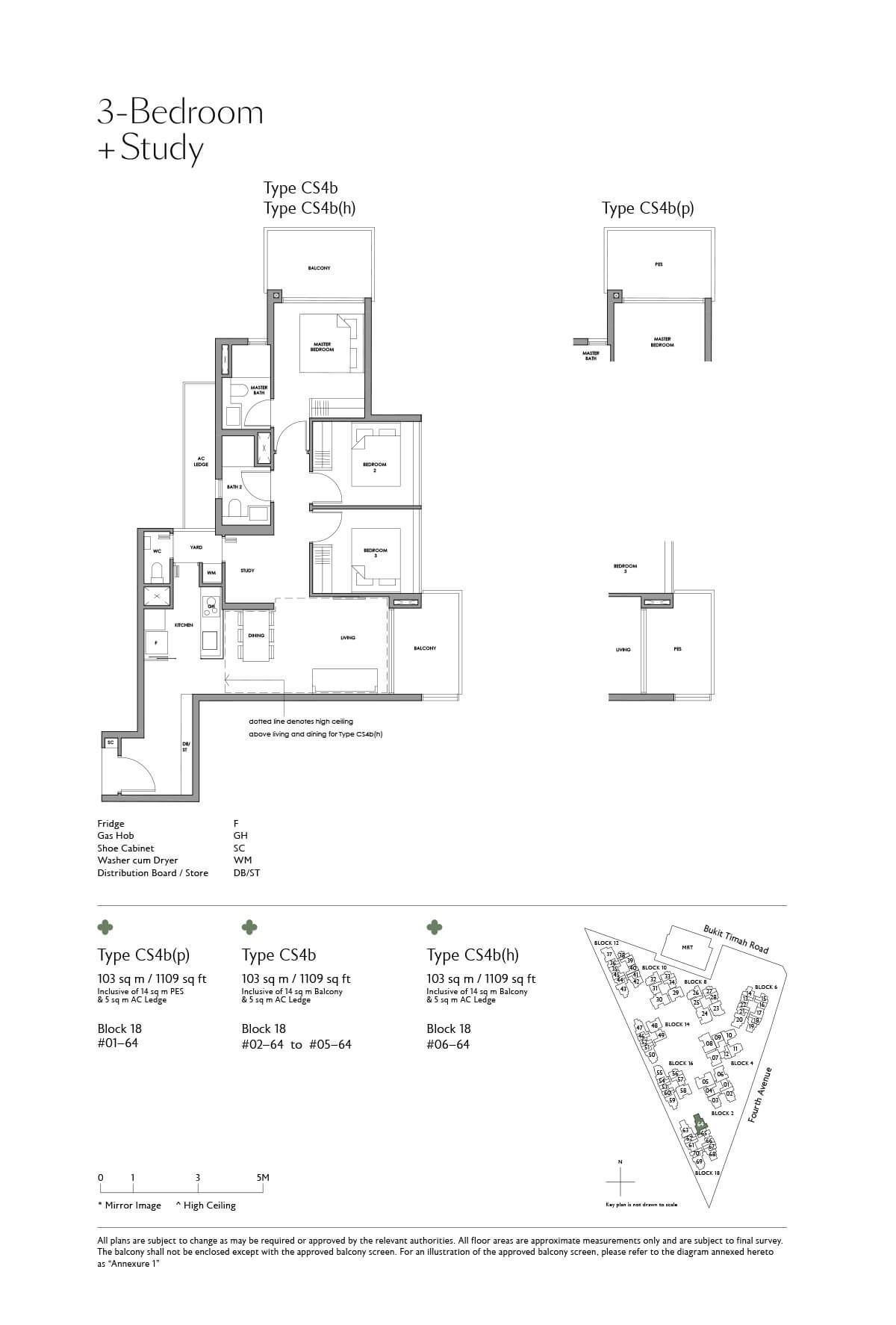 fourth-avenue-residences_floor-plan_3BR-Study_CS4b_CS4b-p_CS4b-h
