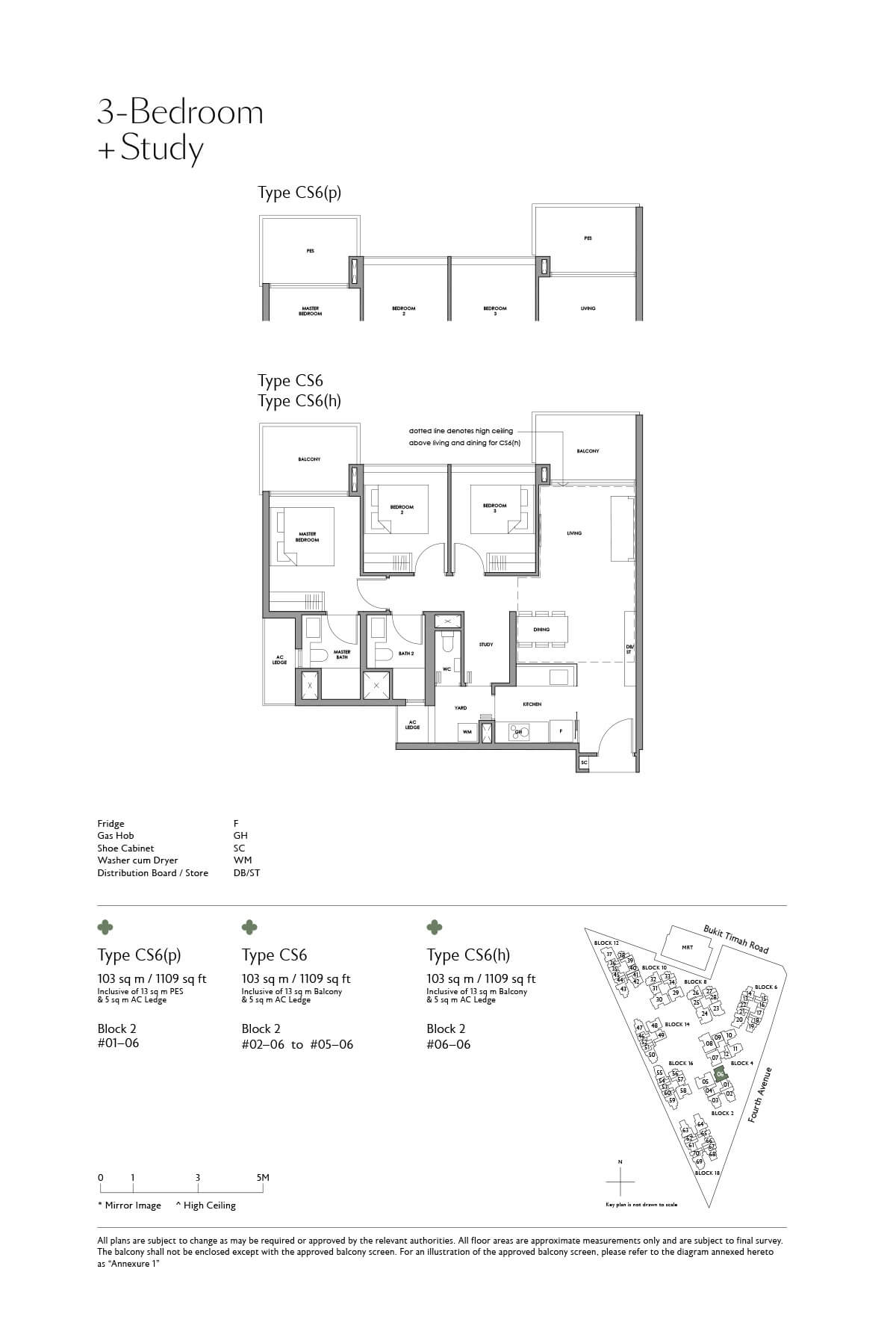 fourth-avenue-residences_floor-plan_3BR-Study_CS6_CS6-p_CS6-h