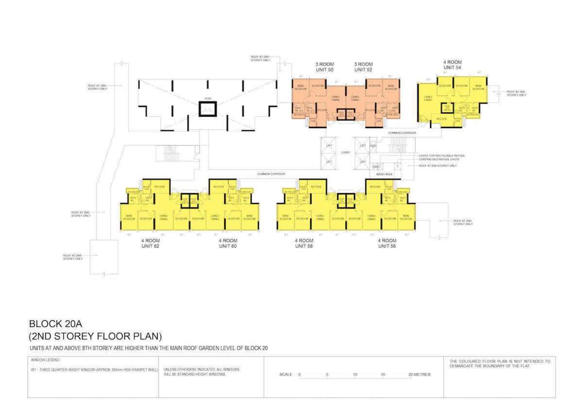 Kallang Breeze Block Plan Block 20A 2nd Storey