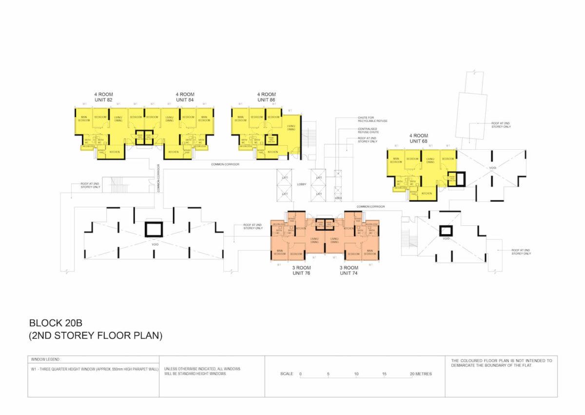 Kallang Breeze Block Plan Block 20B 2nd Storey