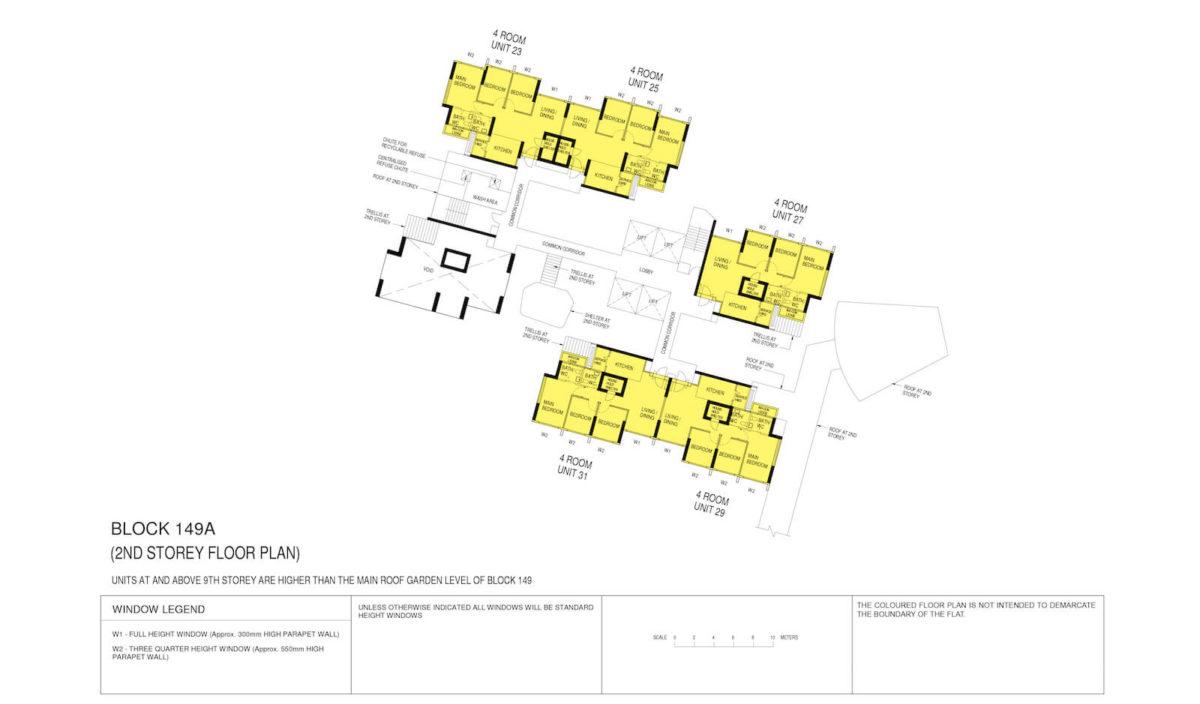 Towner Crest Block Plan Block 149A 2nd Storey