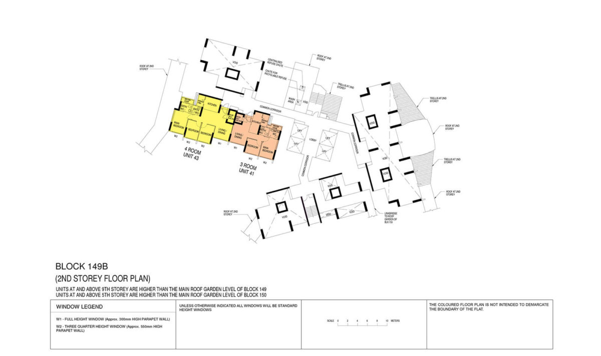 Towner Crest Block Plan Block 149B 2nd Storey