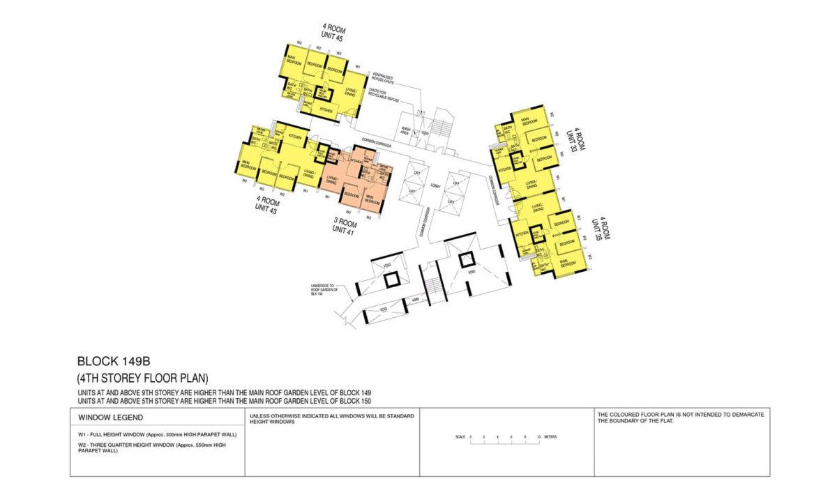 Towner Crest Block Plan Block 149B 4th Storey