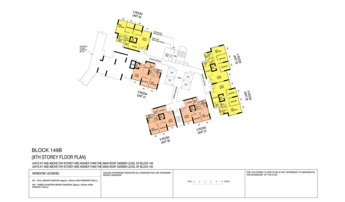 Towner Crest Block Plan Block 149B 8th Storey