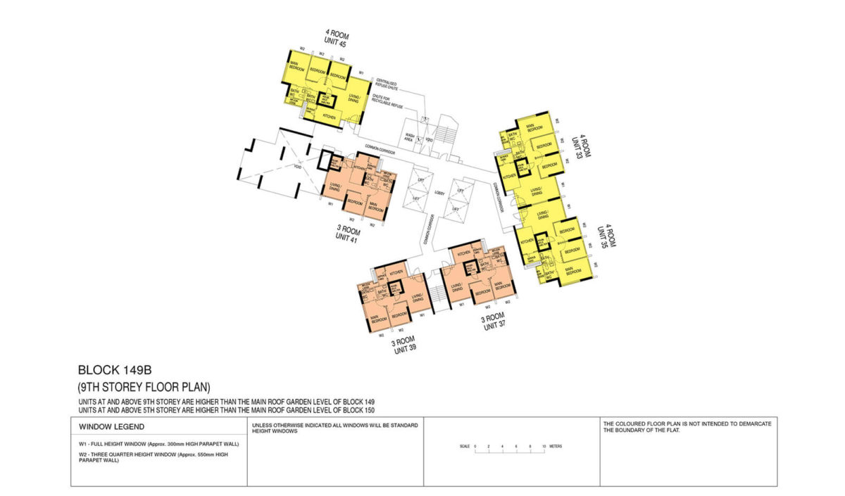 Towner Crest Block Plan Block 149B 9th Storey