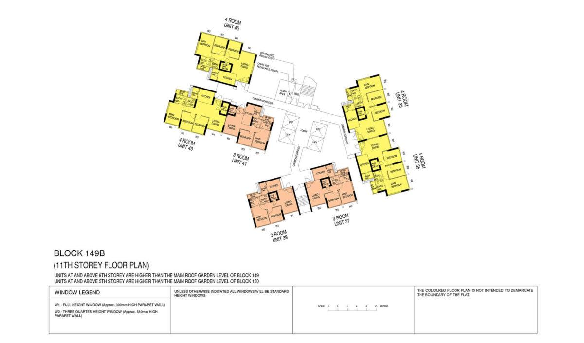 Towner Crest Block Plan Block 149B 11th Storey