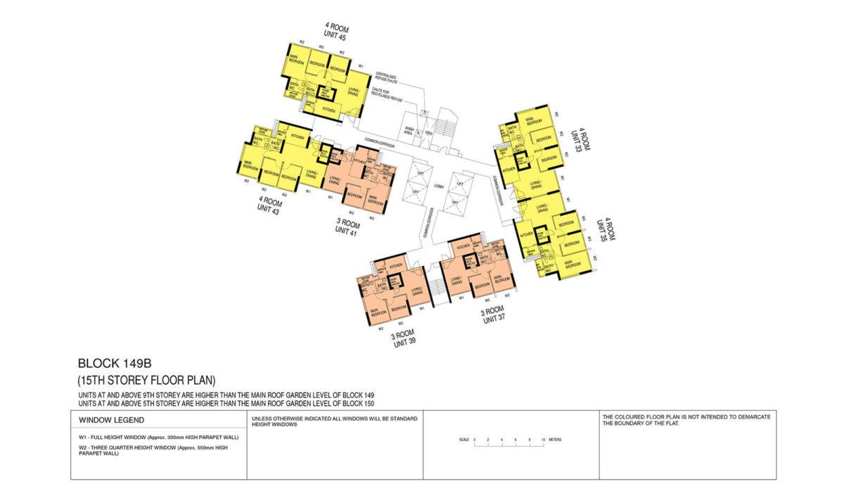 Towner Crest Block Plan Block 149B 15th Storey