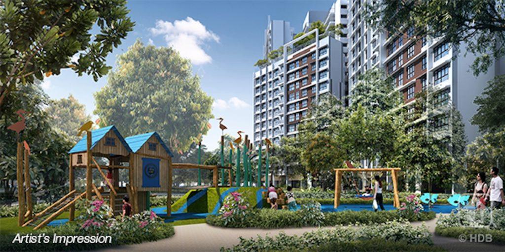 Punggol Point Crown Kids Playground