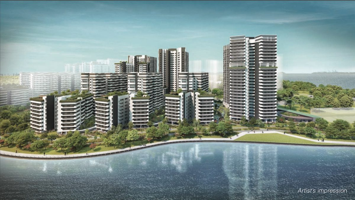 Punggol Point Cove Building Facade