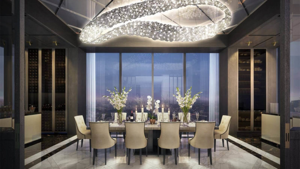 Wallich Residences Dining Area