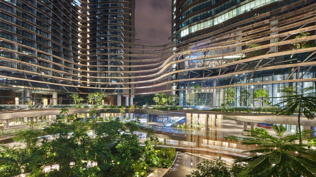 Marina One Residences Green Heart (Night)
