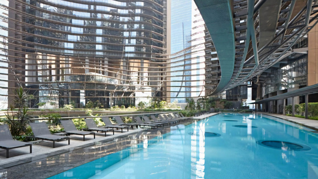 Marina One Residences Lap Pool