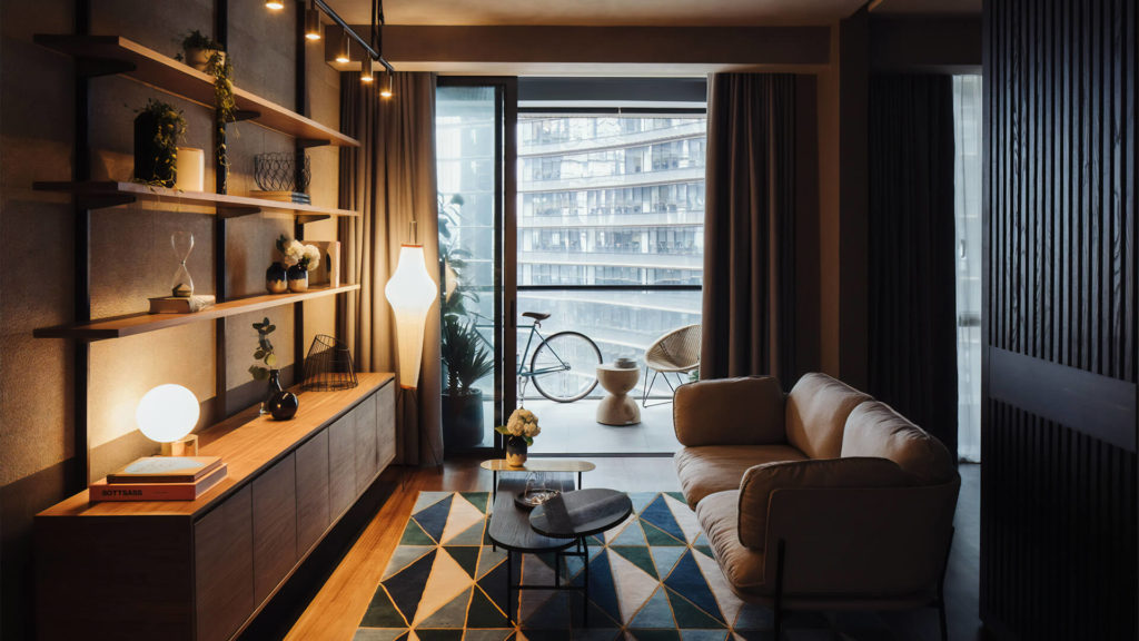 Marina One Residences Living Area